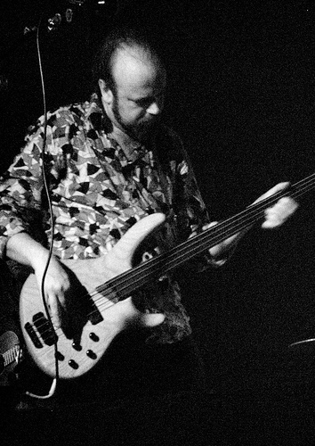 Nick on d Fretless